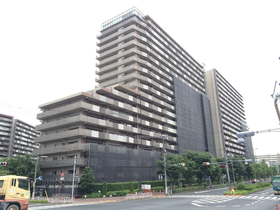 60m仕様!20階建てのマンション改修工事現場にて運用テスト中です