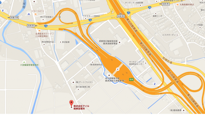 関東営業所地図2