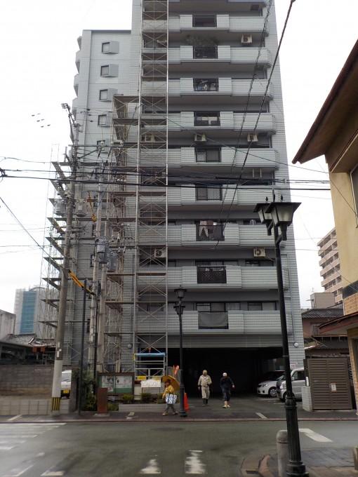 熊本市内の現場です。