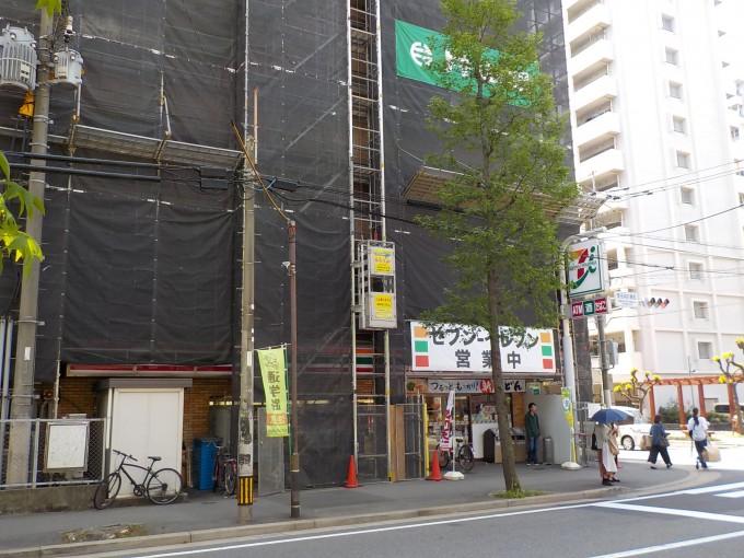 猿鳶太助Ⅰ型 人通りが多くても安全作業