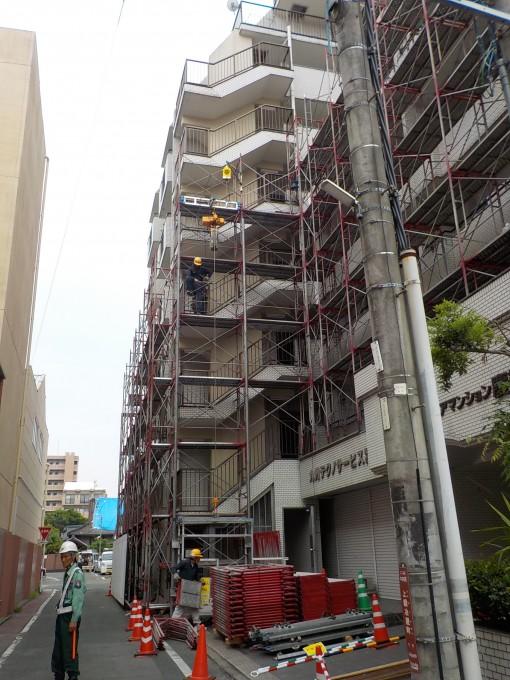 熊本市内 マンション改修工事