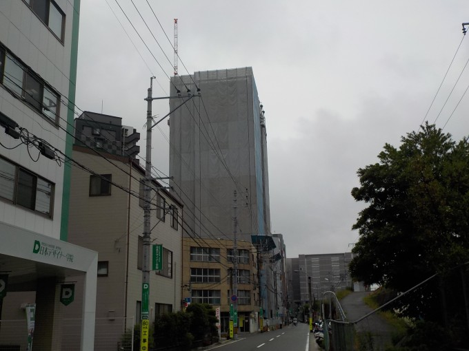 博多駅前ホテル新築工事現場