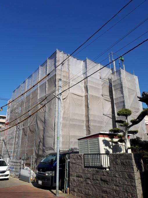 関東地区の3階木造建築現場で多数ご採用いただいてます!