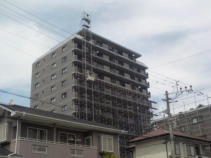熊本市内マンション改修